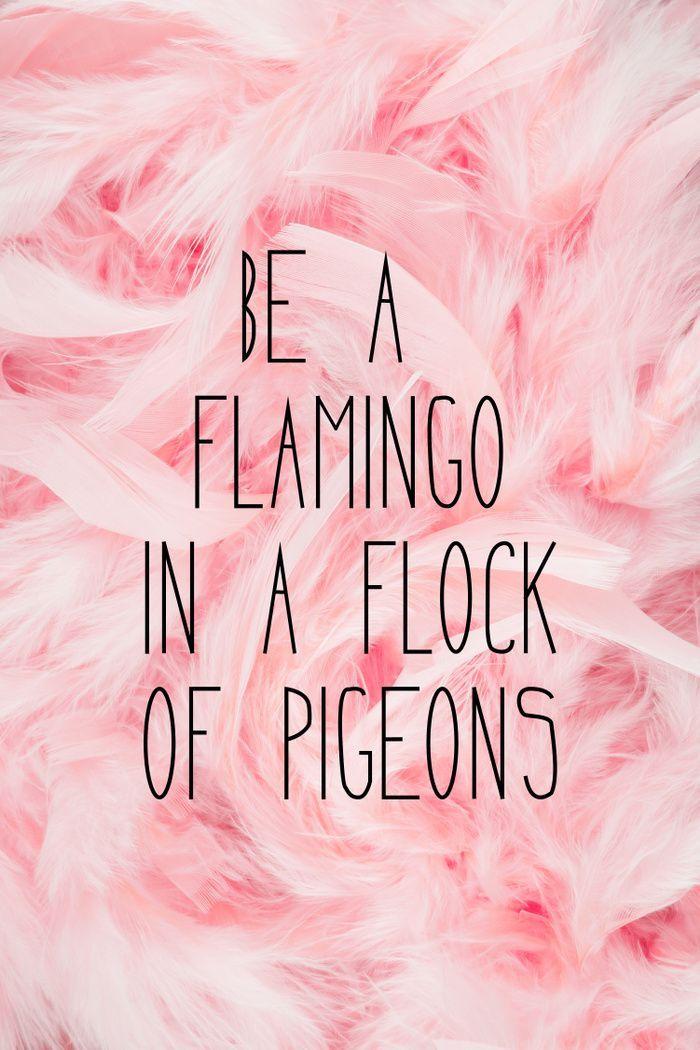 Be a flamingo ♥️ Art Print by Gabi Davis | Society6