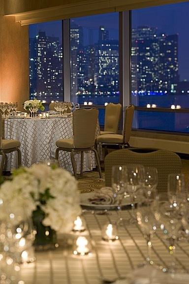 Weddings Hyatt Regency Jersey City Tall Centerpieces Events Pinterest And