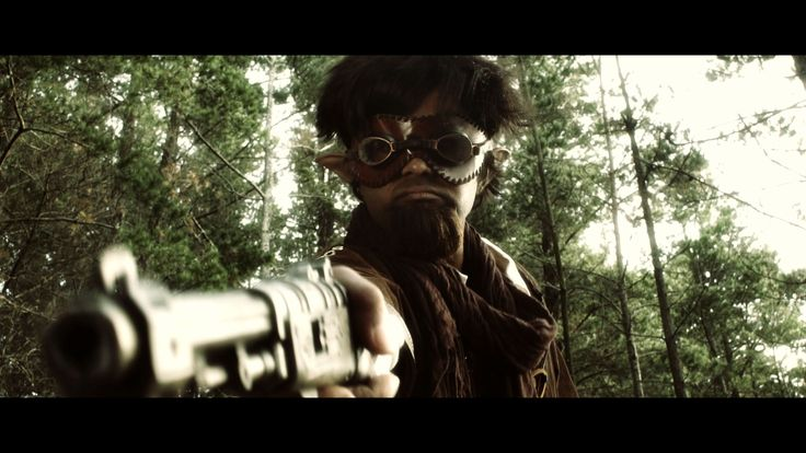 Gnomish gunslinger from AFK the Webseries