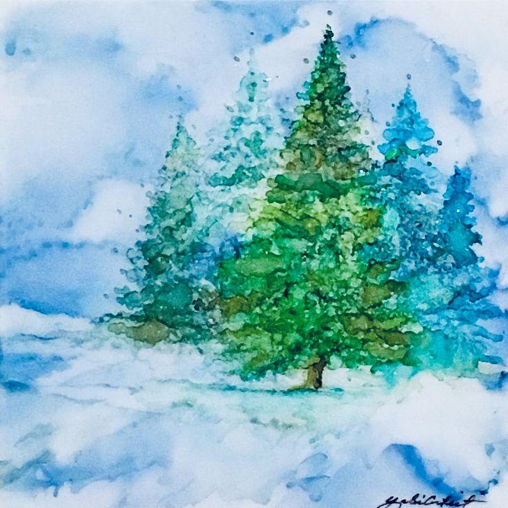 Best 25 Pine tree painting ideas on Pinterest