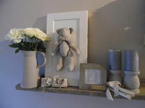 Kids room idea.  The bear..