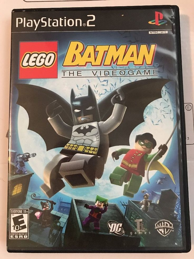 LEGO Batman: The Videogame PlayStation 2, 2008 883929020713   eBay