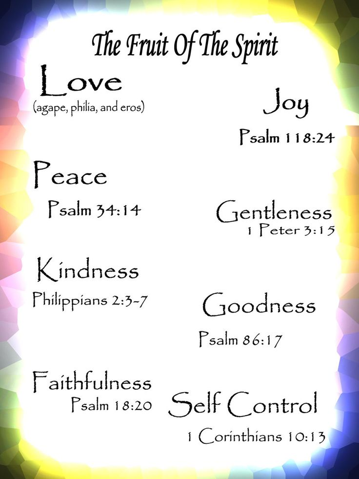 Fruit of the spirit by on