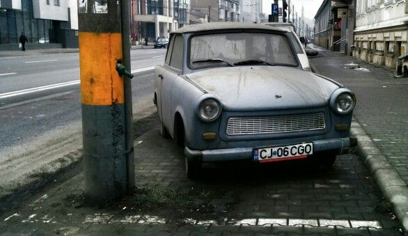Old car in Cluj