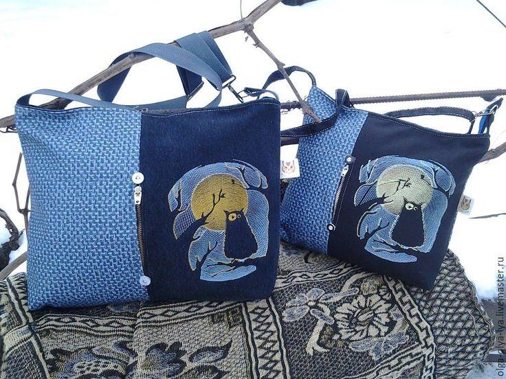 """Купить Рюкзак и сумка """"Ночной дозор"""" - черный, рисунок, рюкзак женский, рюкзак для девушки"""