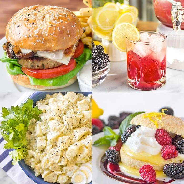 BBQ Menu Ideas Entree Side Dish Drink Dessert Recipes For A Party