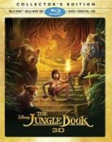 The Jungle Book [3D] [Blu-ray/DVD] [2016] - Front_Standard