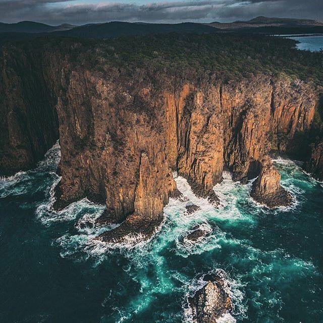 Instagram photo by @matadornetwork: What coastline do you want to explore next? Love this view of the coastline around Double Rock Tasmania by #MatadorN reader @mattglastonbury. Thanks for tagging #travelstoke! by matadornetwork #travelinspiration #travel #wanderlust