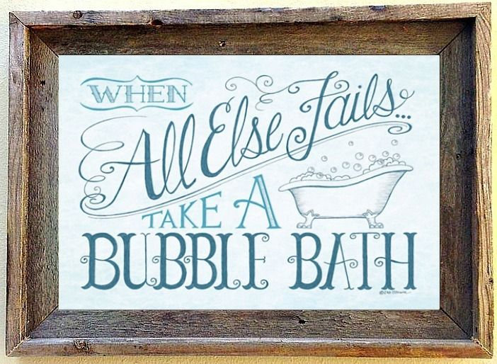 custom barnwood frames bubble bath framed print 2499 http