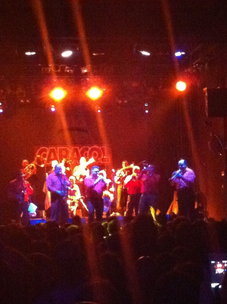 Fanfare Ciocarlia en La Caracol, nov 2012