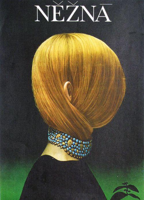 Czech Poster by Olga Poláčková-Vyleťalová, 1969