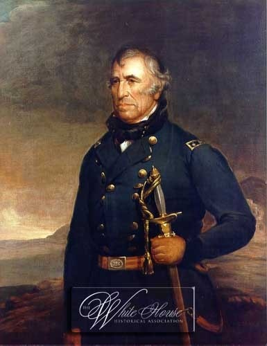 Official White House Portrait of Zachary Taylor - 12th President of the United States