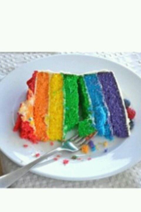 Torta Arcoiris.