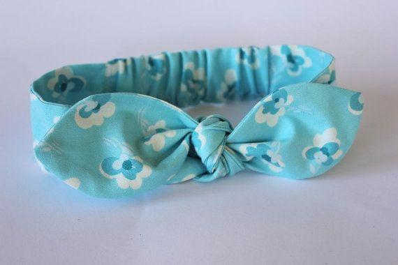 Baby Headband vintage style Naomi baby headwrap by ElleBelleBliss $12 AUD