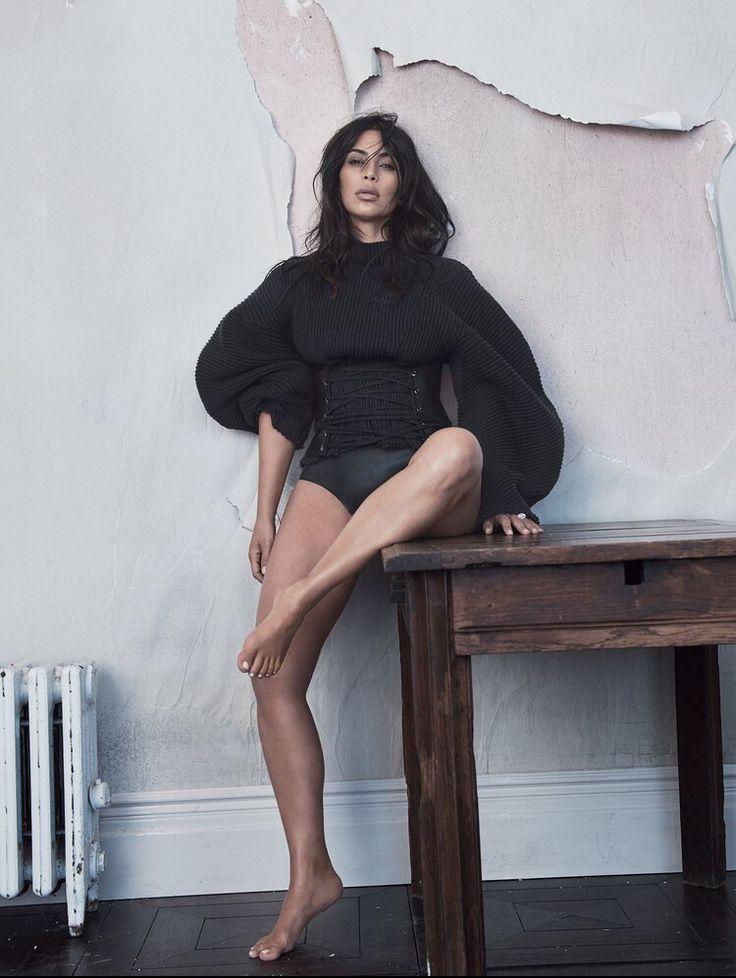 Kim Kardashian West for Vogue Australia