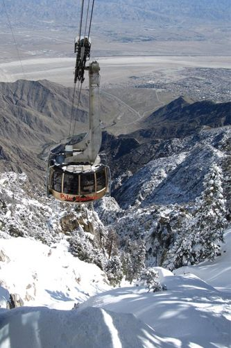 The Ultimate Under-The-Radar Palm Springs Guide!   #refinery29  http://www.refinery29.com/guide-to-palm-springs#slide10  The Palm Springs Tramway may seem touristy, but even the locals like to take the rotating cable car up the 2 ½ miles into the mountains for 500 miles of walking and hiking trails. The Palm Springs Tramway, One Tram Way (near North Palm Canyon Drive); 888-515-8726. Photo: Courtesy of Starworks.