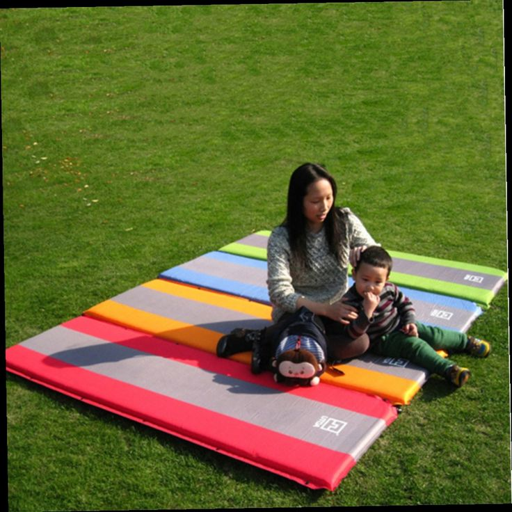 41.58$  Watch here - http://aliq4e.worldwells.pw/go.php?t=32635321264 - Self Inflate Foam Sleeping Mat Camping Mattress Air Bed Double Single Roll Up new arrival 41.58$