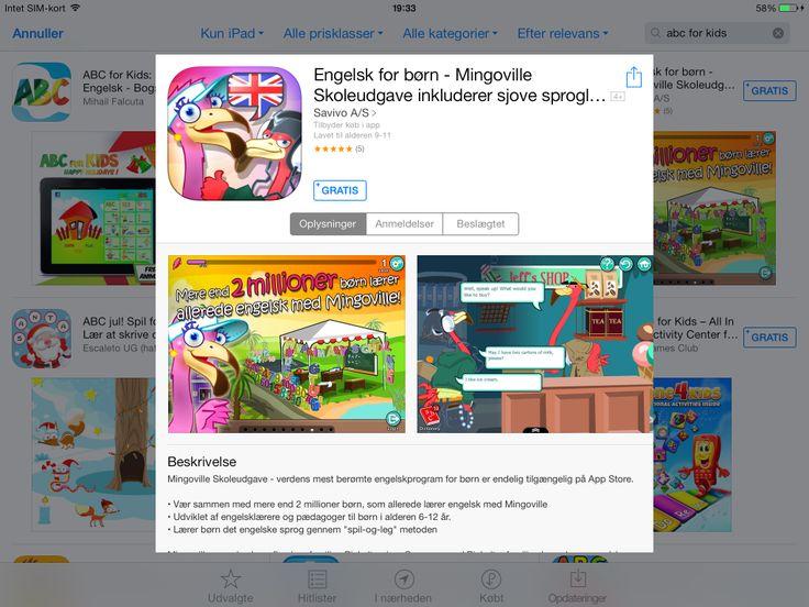App med mingoville, kun lidt er gratis