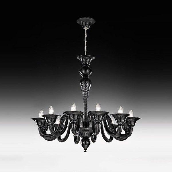 #Chandelier made from #Murano glass in a contemporary style.#interiordesign #homedecor #lighting #light #lightingdesign