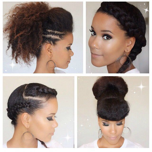 193 best natural hair protective styles images on pinterest cute protective styles solutioingenieria Images