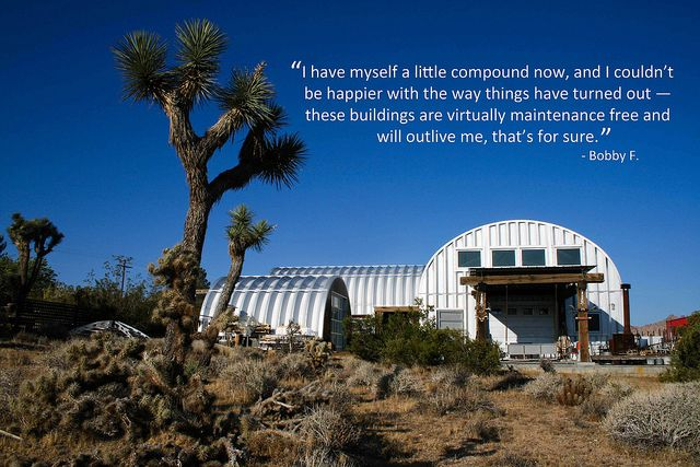 1000 images about quonset hut houses on pinterest john for Houses made out of metal buildings