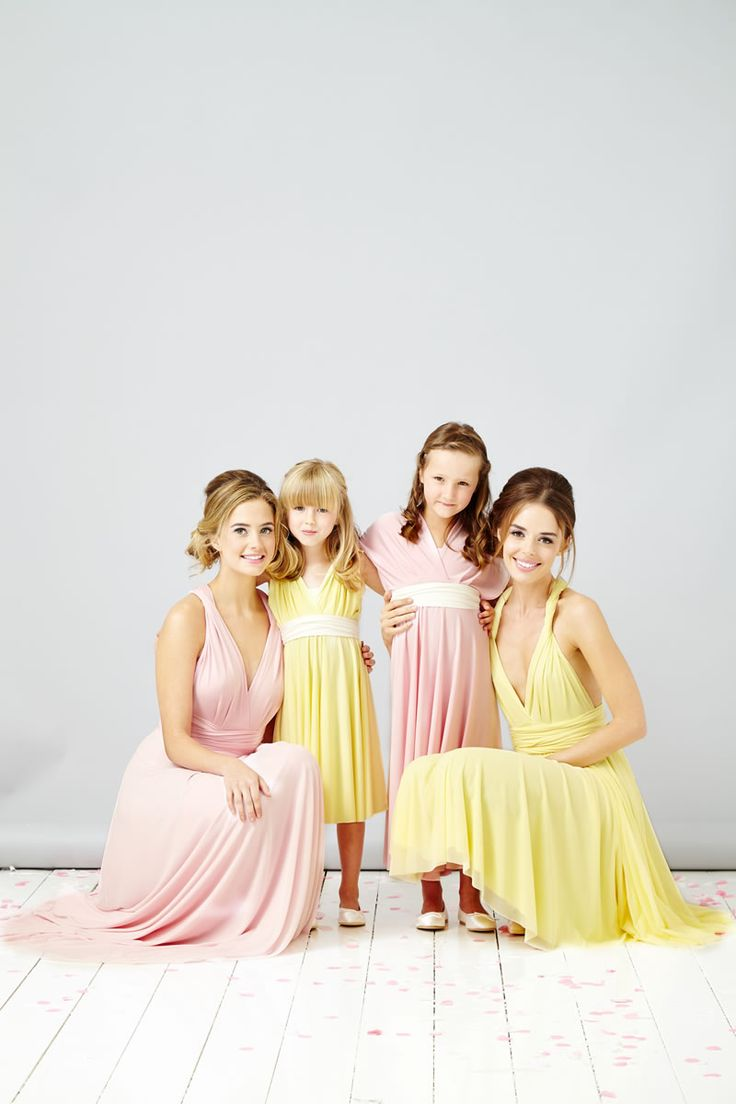 The perfect multiway bridesmaid dresses by In One Clothing