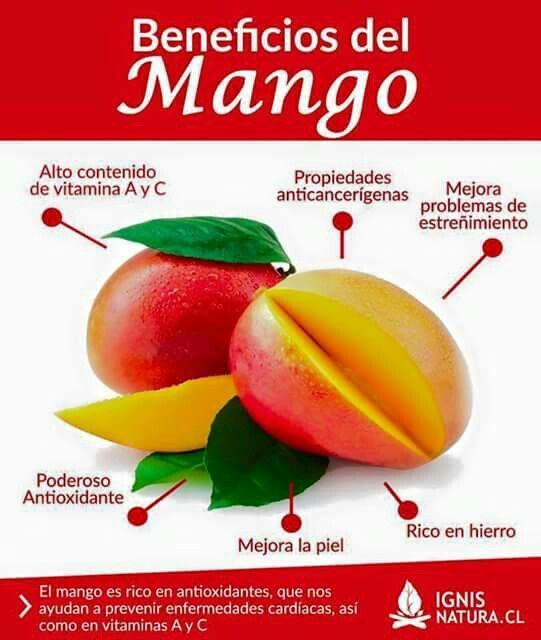 Beneficios del mango.