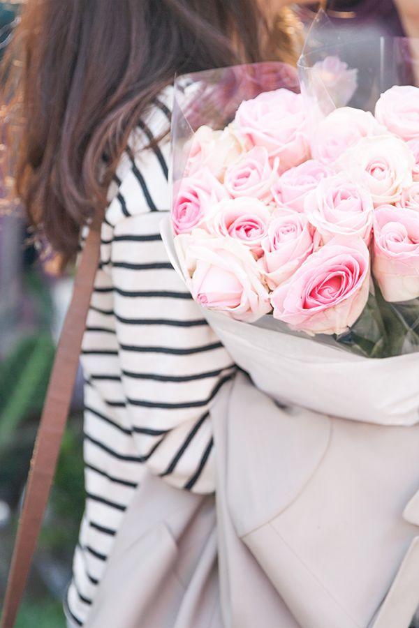 roses + sailor stripes.