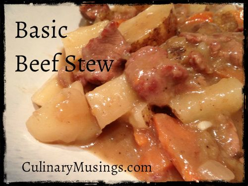 Sunday Dinner? Dutch Oven Basic Beef Stew Recipe