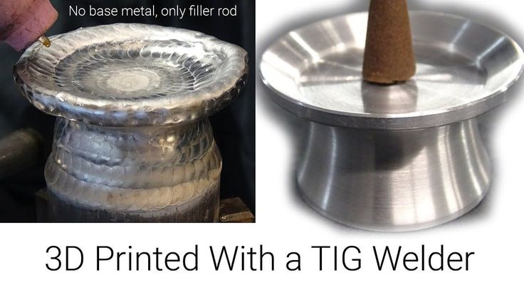#VR #VRGames #Drone #Gaming TIG Welding Aluminum- Manual 3D Printing With a TIG Welder- Incense/candle holder 3d printer, 6061, 6061.com, Drone Videos, unchained melody #3DPrinter #6061 #6061.Com #DroneVideos #UnchainedMelody http://bit.ly/2A1sShY