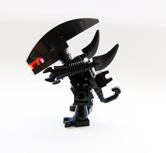 Alien movies custom made LEGO Gieger minifig by tinyminds on Etsy, $17.00