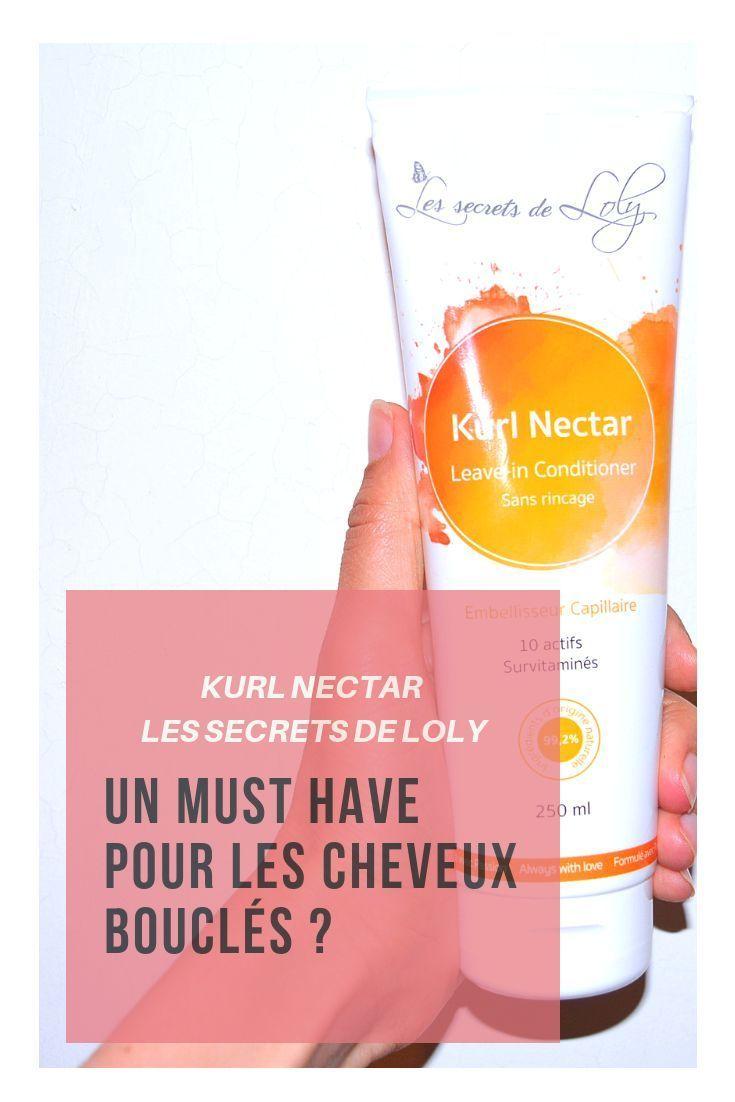 Le Kurl Nectar De Chez Les Secrets De Loly Un Must Have Pour Les Cheveux Boucl Curly Hair Styles Hair Hacks Sea Salt Spray For Hair