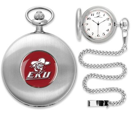 """Eastern Kentucky Colonels Silver Pocket Watch: """"Suntime has thoughtfully crafted a superior quality… #Sport #Football #Rugby #IceHockey"""