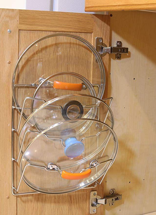 2 Pack Simplehouseware Cabinet Door Wall Mount