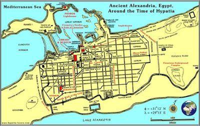Η Αλεξάνδρεια είχε χτιστεί ώστε να ευθυγραμμίζεται με τον Ήλιο την ημέρα των γενεθλίων του Μεγάλου Αλεξάνδρου