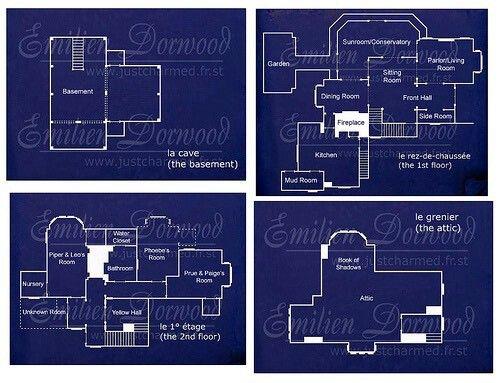 Practical Magic House Floor Plan 4