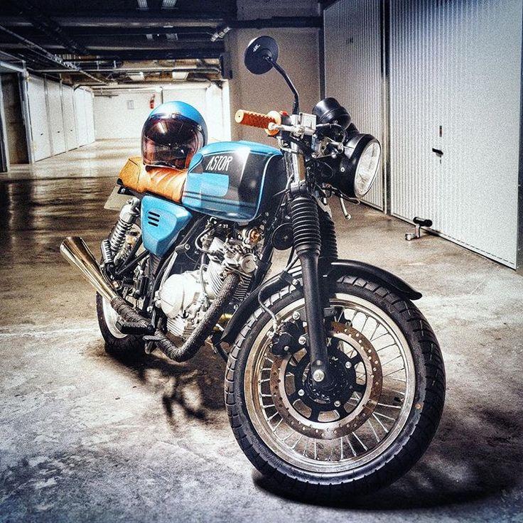 #astor125 #motorbike #caferacer #hedon #hondawerther #125cc