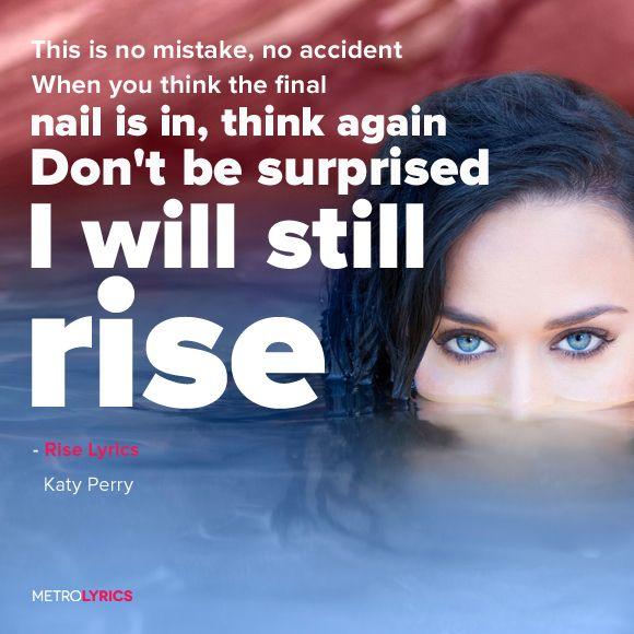 | Rise ~ #KatyPerry |