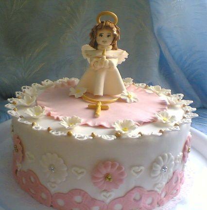торт с ангелочками на крестины - Поиск в Google