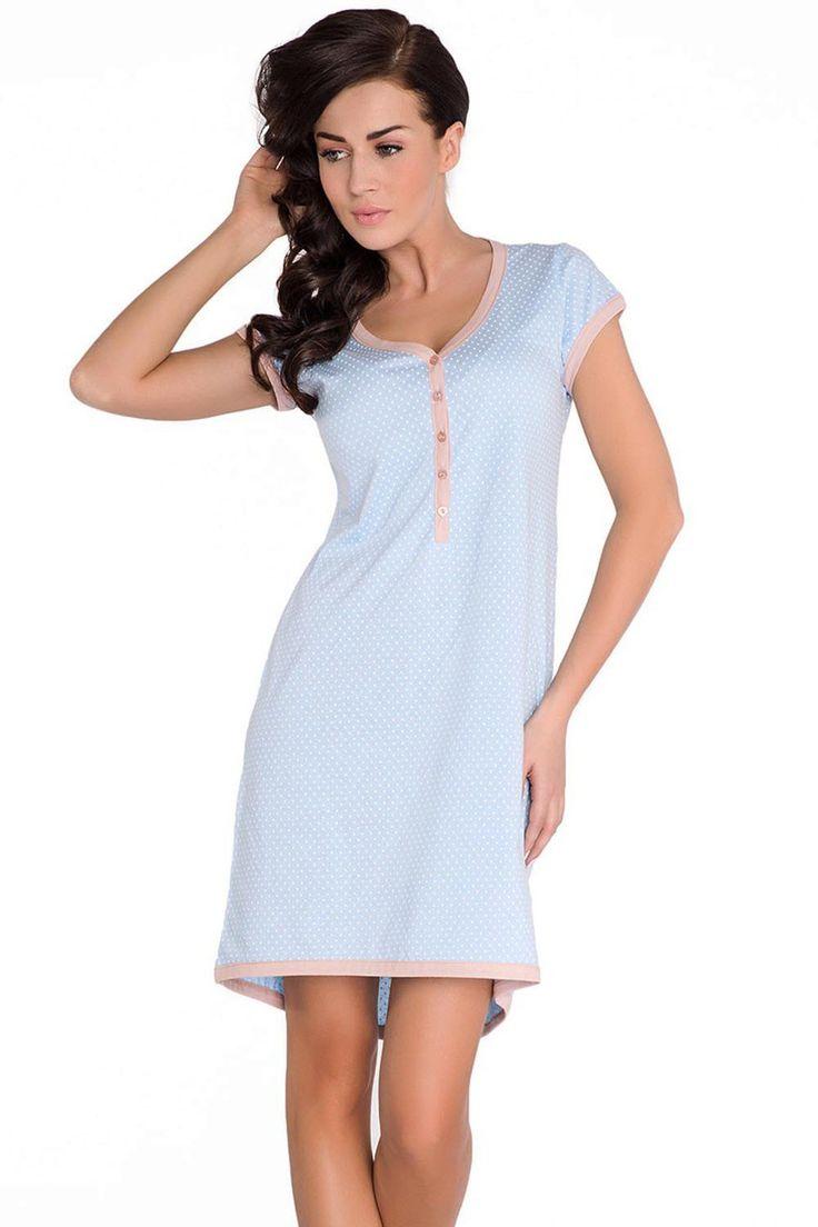 Dobranocka TM.5038 Maternity/Nursing Nightdress | | OtherEden.co.uk