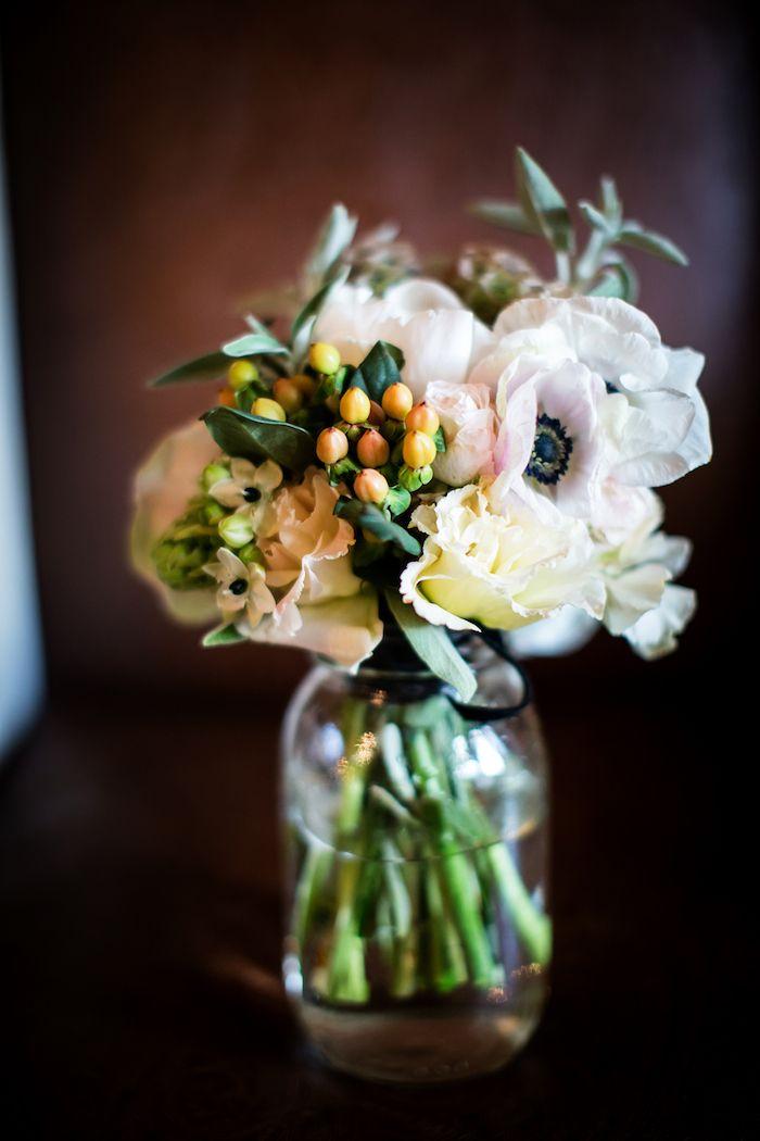 Couture Events-Cecelia and David's Wedding: Rancho Valencia. Pretty Bouquet
