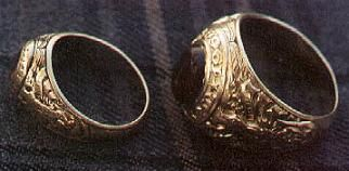 West Point miniature engagement ring, I had to read up on the traditions, this is pretty fascinating!