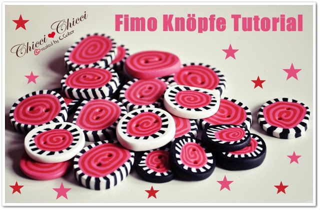 Fimo Knöpfe DIY – Step by Step | Chicci ♥ Chicci made with love