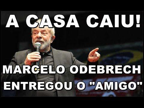 """BOMBA! Marcelo Odebrecht acaba com Lula  """" O amigo das planilhas é Lula""""."""