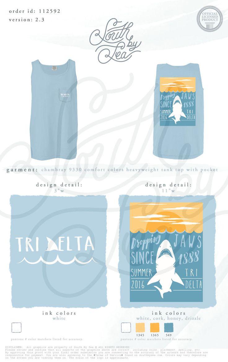 Tri Delta | Delta Delta Delta | Dropping Jaws Since | Summer 2016 | Recruitment…