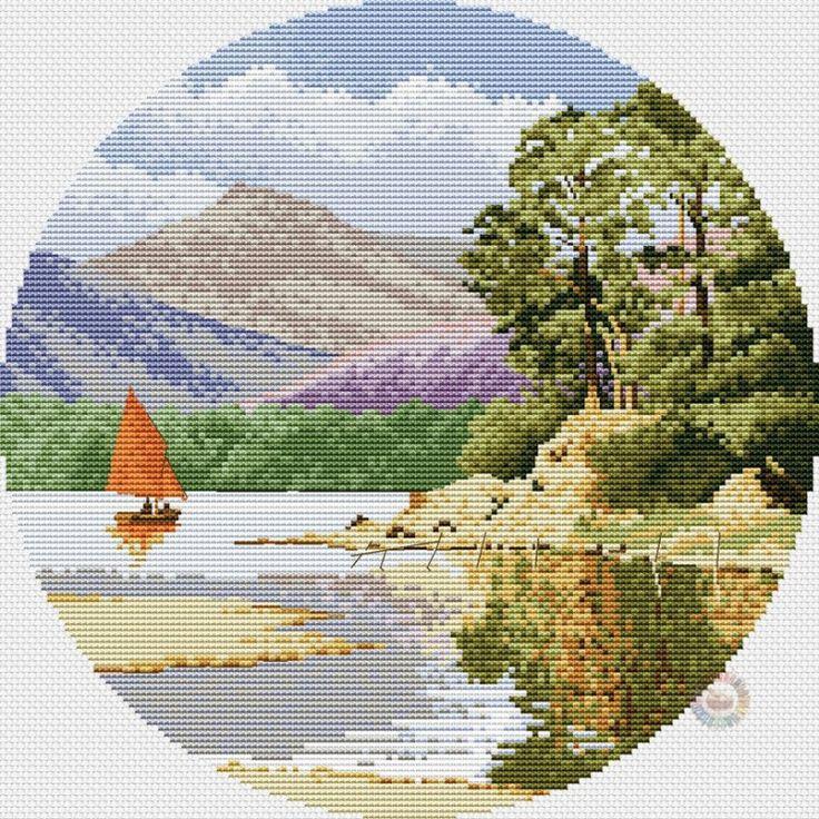 Gallery.ru / Calm Waters - Circles by John Clayton - NataVosk