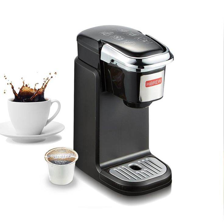 Hibrew single serve k cup coffee maker brewer for kcup