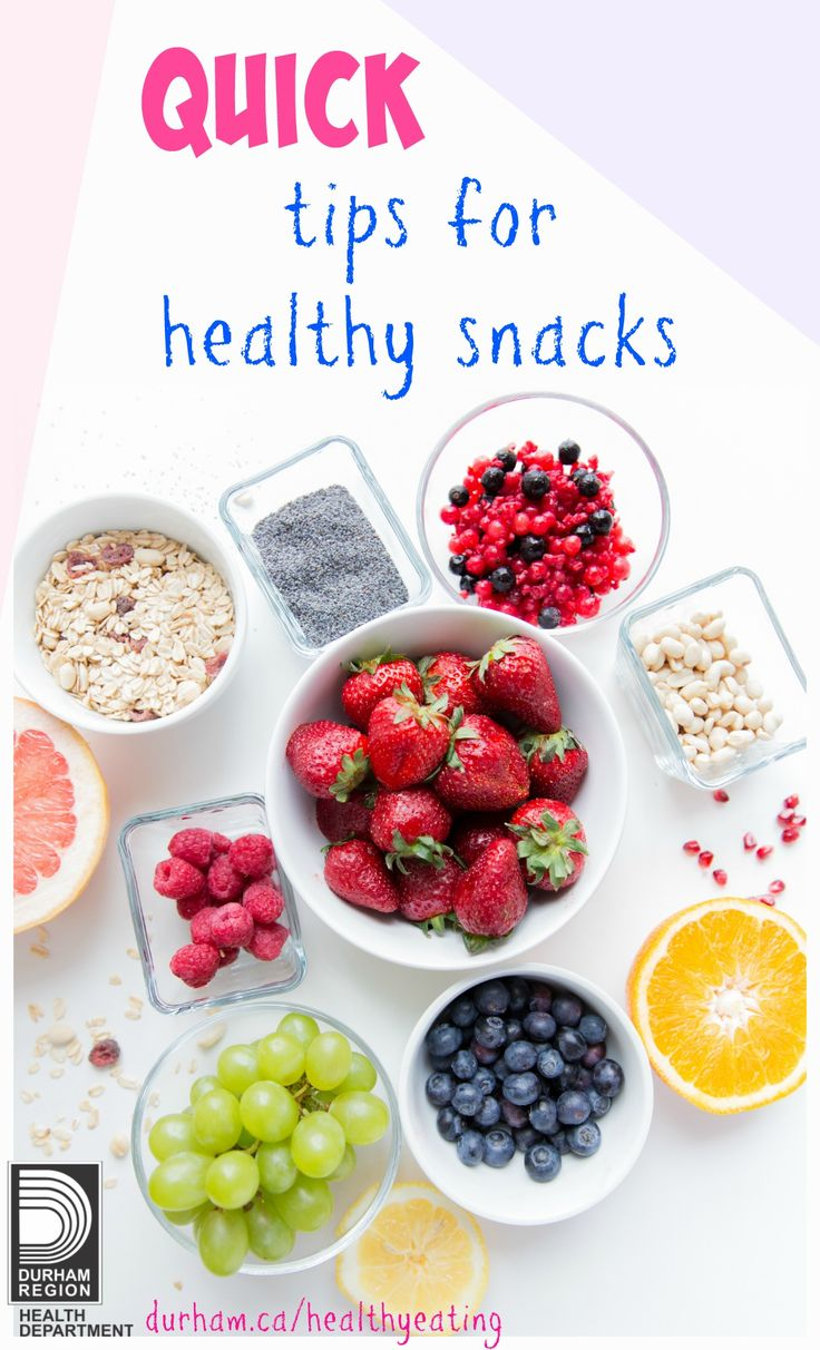 Are you looking for quick and easy meal ideas? What about some healthy grab-and-go snacks for work or school? Take a look under 'videos' to view quick and easy breakfast, lunch or snack ideas!