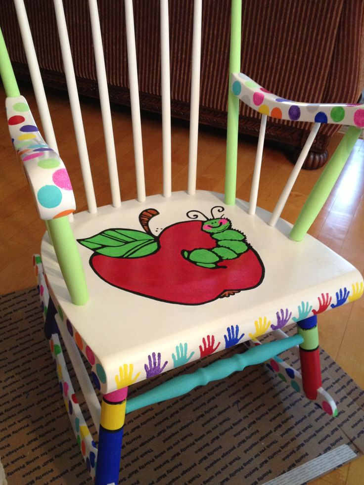 Teacher Chair Transformation