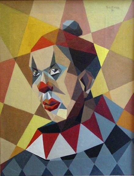 Samson Flexor, O Palhaço (The clown / self portrait)